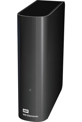 "WD Elements 10TB 3.5"" USB 3.0 Taşınabilir Disk (WDBWLG0100HBK-EESN)"