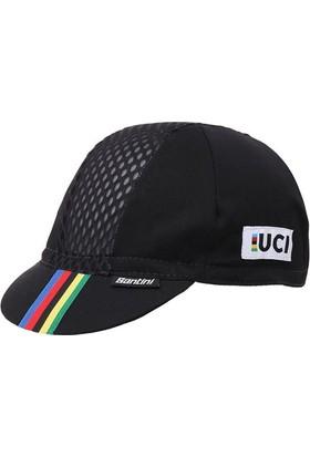 Santini Şapka Ucı Rainbow Siyah Unısıze