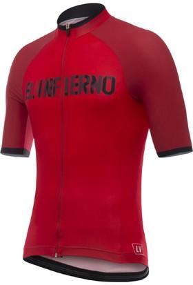 Santini Forma La Vuelta Angliru 2017 Kırmızı S