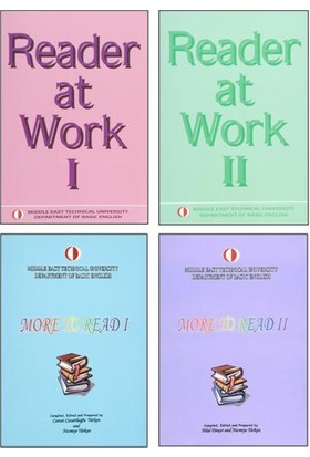 Reader At Work 1+2 & More To Read 1+2 Full Set Odtü - Güncel Son Baskı