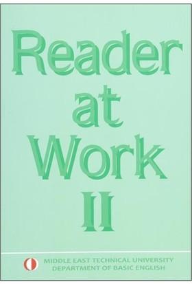 Reader At Work 2 Odtü Yayınları - Ekim 2018 Güncellenmiş Son Baskı