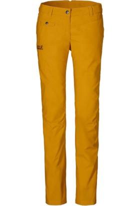 Jack Wolfskin Chıno Golden Yellow Outdoor Kadın Pantolon