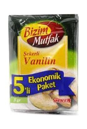 Ülker Bizim Mutfak Vanilin 5 Li