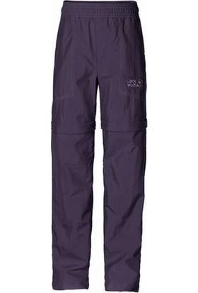 Jack Wolfskin Desert Zıp Off Kids Çocuk Outdoor Pantolon Prune
