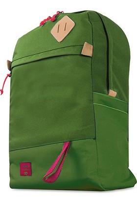 """Addison 300441 15.6"""" Sport Notebook Sırt Çantası Yeşil"""