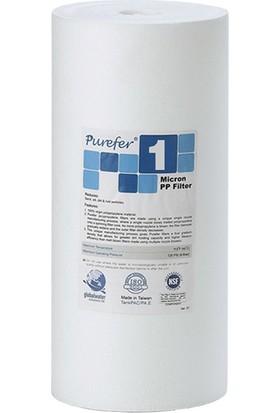 Global Water Solutions Kum ve Tortu Filtresi / 10inç 1 Mikron BigBlue Filtre