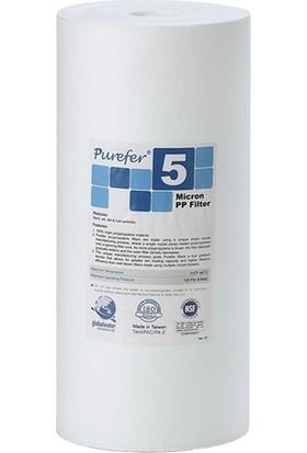 Global Water Solutions Kum ve Tortu Filtresi / 10inç 5 Mikron BigBlue Filtre