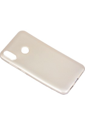 Case 4U Casper Via V3 Plus Kılıf Mat Silikon Arka Kapak - Premier - Altın