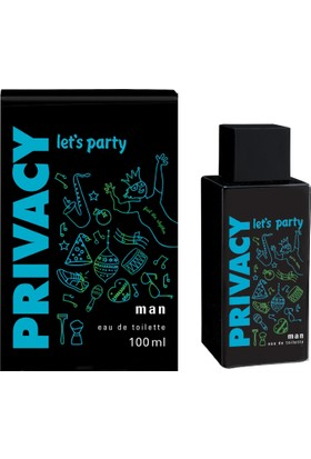 Privacy Let's Party Erkek Parfümü Edt 100 Ml
