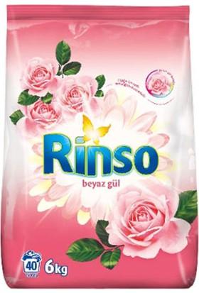 Rinso Toz Çamaşır Deterjanı Beyaz Gül 6 kg