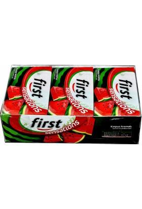 First Sensations Karpuz Aromalı Sakız 27 gr x 12 Li