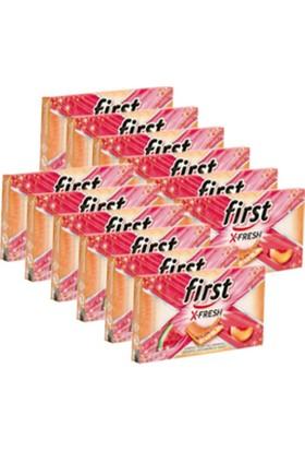 First Sensations X-Fresh Şeftali Karpuz Aromalı Sakız 27 gr x 12 Li