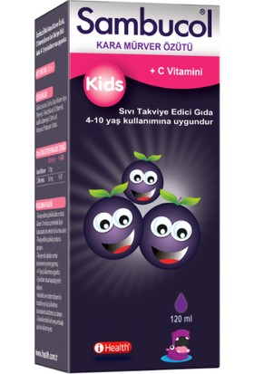 Sambucol Kids C Vitaminli Şurup 120 ml