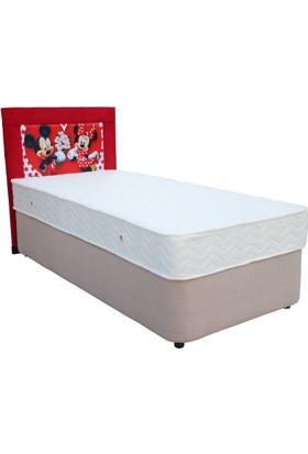Ellaronia Tek Kişilik Taytüyü Yatak Başlığı Mickey Mouse