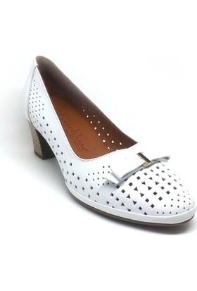 Shop And Shoes 001-669729 Kadın Ayakkabı Beyaz