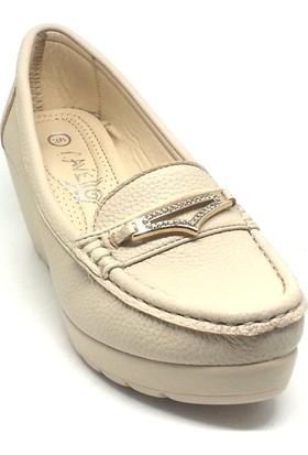 Shop And Shoes 015-K304-702 Kadın Ayakkabı Bej