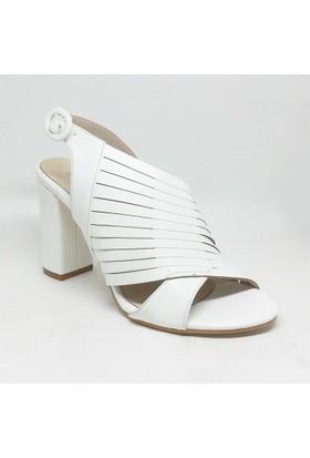 Shop And Shoes 027-18144 Kadın Ayakkabı Beyaz