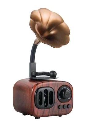 İdragon Gramafon Retro B7 Wıreless Speaker Bluetooth Sd Card Radio