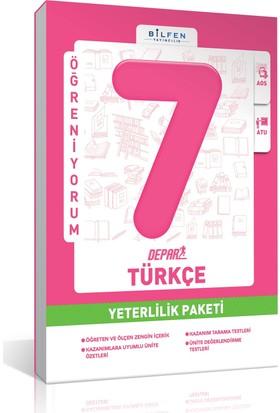 Bilfen 8. Sınıf Türkçe Yeterlilik Paketi 2018-2019