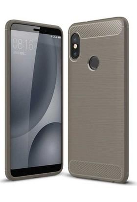 Aplus Xiaomi Mi 8 Ultra Koruma Silikon Room Kılıf - Gri