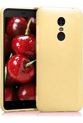 Aplus Xiaomi Redmi 5 Plus Ultra İnce Yumuşak Silikon Premier Kılıf - Gold