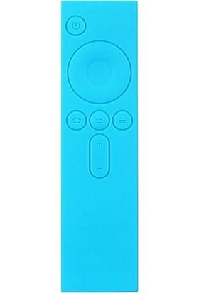 Case 4U Xiaomi Mi TV Box 3 Kumanda Koruyucu Silikon Kılıf - Mavi