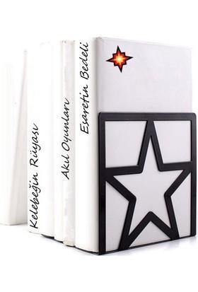 Simge Yapı Dekorasyon Yıldız Figürlü Dekoratif Kitap Tutucu