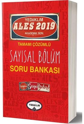Yediiklim Yayınları 2019 ALES Tamamı Çözümlü Sayısal Bölüm Soru Bankası