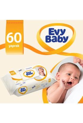 Evy Baby Islak Havlu Soft 60 Yaprak