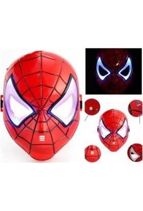 Samur Işıklı Spiderman Maskesi