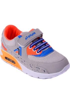 Alessio Gri Turuncu Çocuk Spor Ayakkabısı