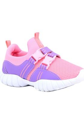 Alessio Şeker Pembe Mor Çocuk Spor Ayakkabısı