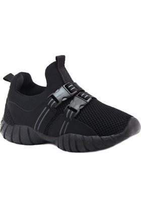 Alessio Siyah Çocuk Spor Ayakkabısı