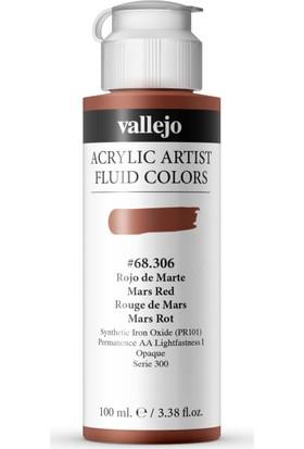 Vallejo Fluıd Acrylıc 100Ml S1 68.306 Mars Red