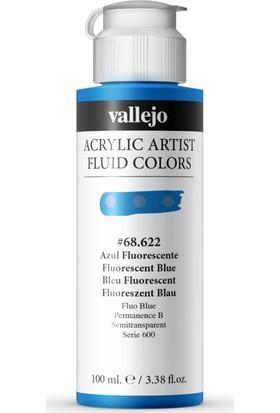 Vallejo Fluıd Acrylıc 100Ml S3 68.622Vallejo Fluıd Acrylıc 100Ml S3 68.622 Fluorescent Blue