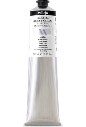 Vallejo Artist Akrilik Boya 200Ml S1 320 Zinc White