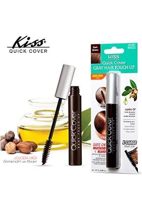 Kiss Quick Cover Beyaz Saç Kapatıcısı - Kahve