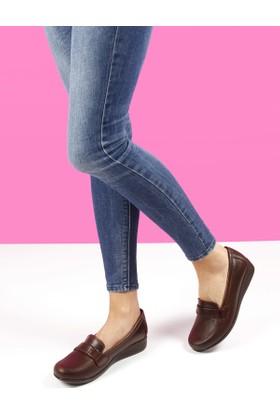 Gön Deri Kadın Ayakkabı 35116
