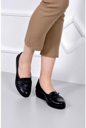 Gön Deri Kadın Ayakkabı 42301