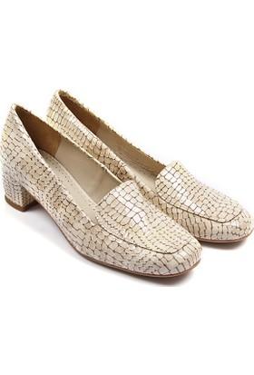 Gön Deri Kadın Ayakkabı 22338