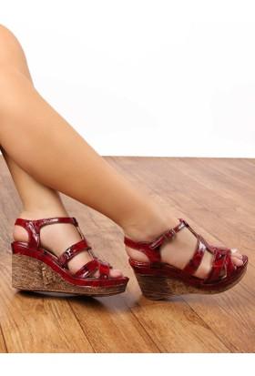 Gön Deri Kadın Sandalet 25836
