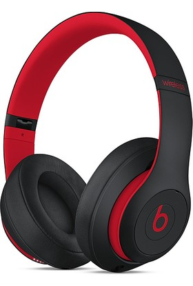 Beats Studio3 Bluetooth Kablosuz Kulaküstü Kulaklık - The Beats Decade Collection - Defiant Black-Red MRQ82EE/A