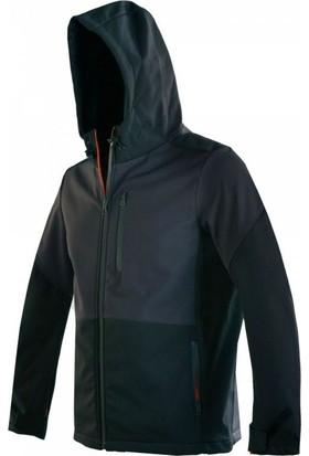 Exuma 291140 Softshell Outdoor Siyah Erkek Mont