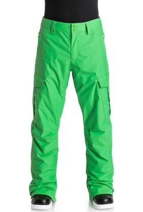Quiksilver Porter Ins Erkek Kayak ve Snowboard Pantolonu Yeşil