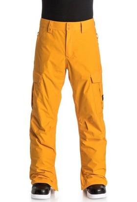 Quiksilver Porter Ins Erkek Kayak ve Snowboard Pantolonu Sarı