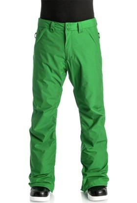 Quiksilver Estate Pant Erkek Kayak ve Snowboard Pantolonu Yeşil
