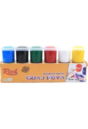 Rich Guaj Boyası 6 Renk Set