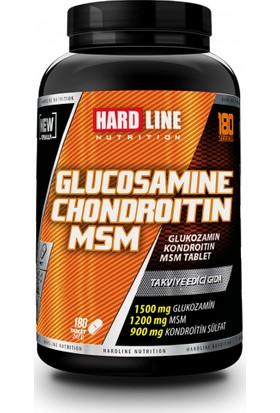 Hardline Glucosamine Chondroitine MSM 120 Tablet