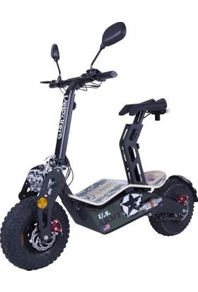 Velocifero Mad 1600W Elektrikli Scooter Army