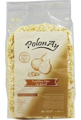 Polonay Kurutulmuş Soğan İnce Granül 100 gr